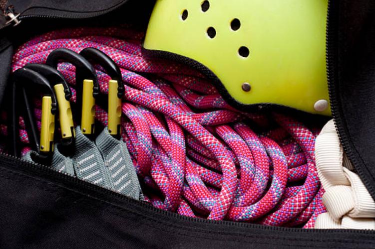climbing bag rope